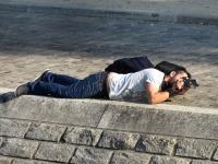 Mise en scène, sur bords de Seine.