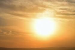 Soleil d'hiver - Mer Morte
