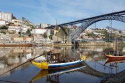 Sur le Douro à Porto