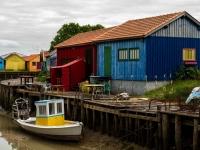 Oléron les cabanes - Une palette de couleurs