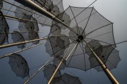un coin de paradis contre un coin de parapluie