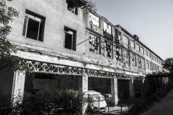 bâtiment délabré