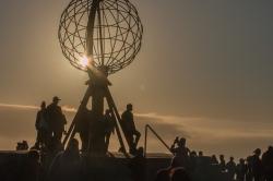 Cap Nord Soleil de minuit
