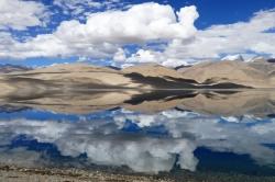 Reflets Lac Tsomoriri