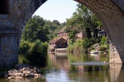 Sur-le-bord-de-la-Mayenne...