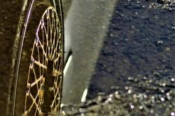 Une flaque, un reflet