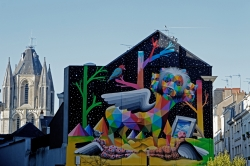 Contrastes urbains à Angers