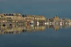 Reflet matinal à St Malo