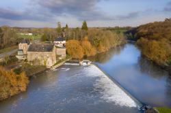Moulin et barrage de Belle Poule