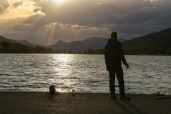 Lumière sur le lac