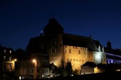 Conjonction sur le château