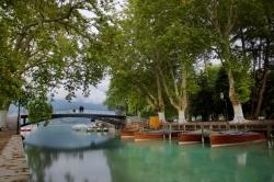 Le pont des Amours a Annecy